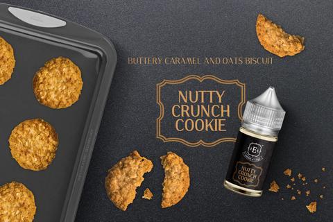 Nutty Crunch Cookie E-Liquid 60ml - Vaper's Corner
