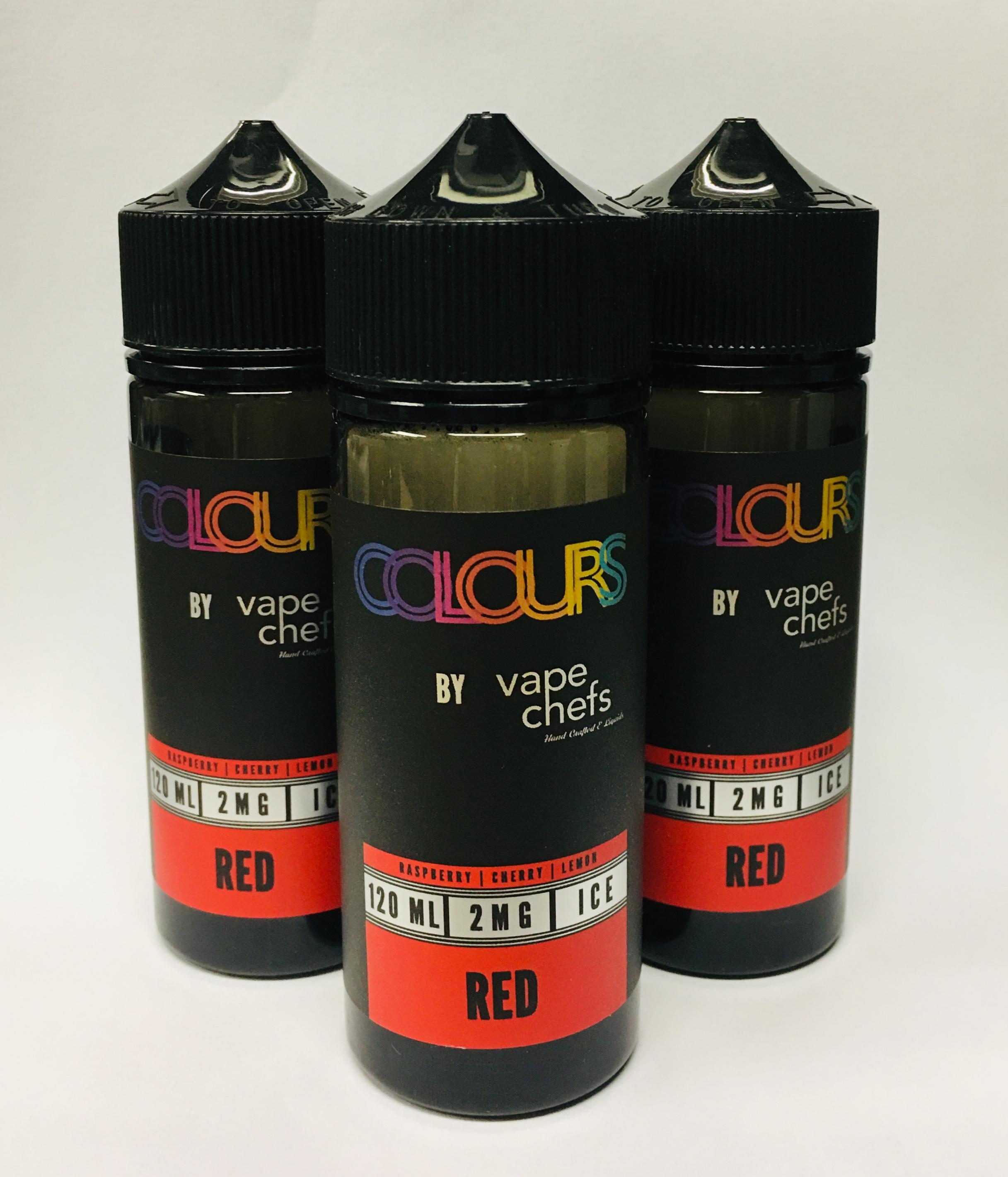 Colours Red E-Liquid 120ml